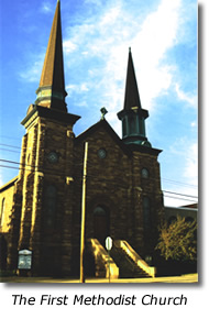 The First Methodist Church in Marquette